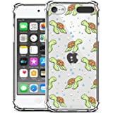 ZIYE Compatible with iPod Touch 7th Generation Case,iPod Touch 6 5 Case Clear,Shockproof Protective Case for iPod Touch 5/iPo