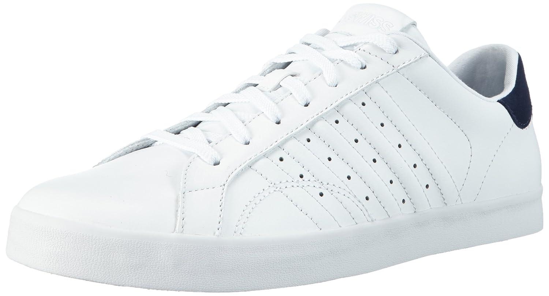 K-swiss Belmont, Sneakers Basses Homme - Blanc (White/Bison 868), 40 EU
