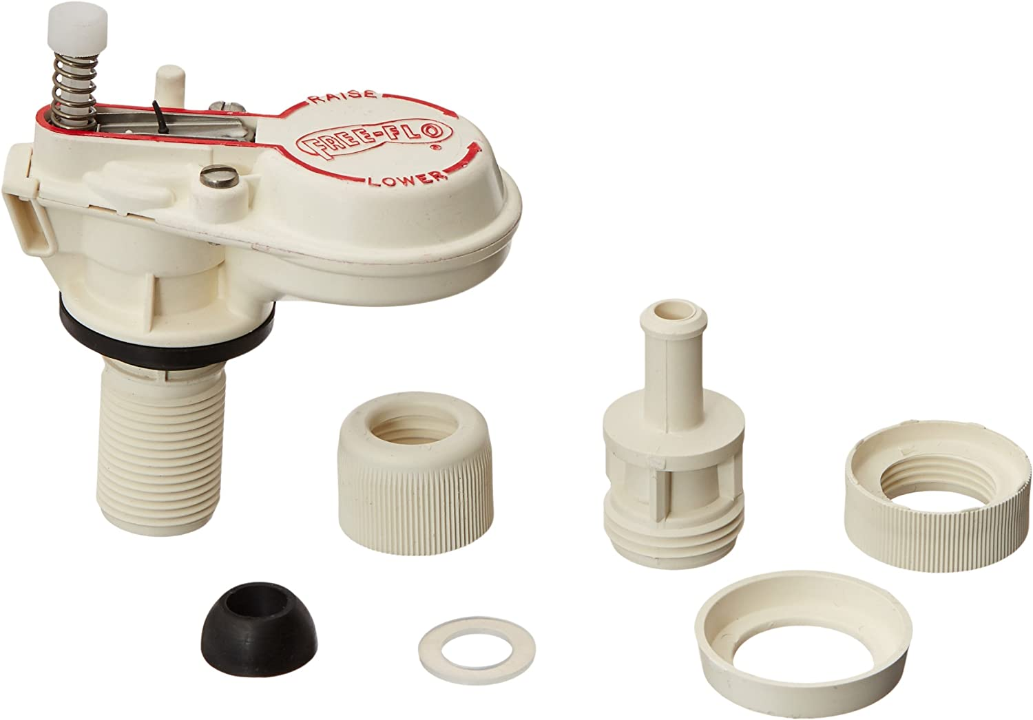 24-Pack LASCO 04-4104-MASTER Fill Valve Magnus Plastic Low Profile Anti-Syphon Adjustable 6-Inch to 12-Inch with Refill Tube and Nut