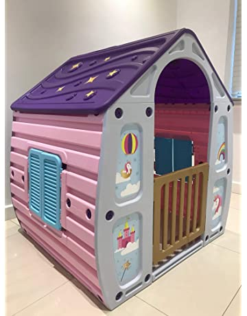 14fb16f8baaa Unicorn Childrens Playhouse Wendy House Magical Play House By Starplast