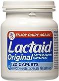 Lactaid Original Strength Lactase Enzyme Supplement, Caplets - 120 ea