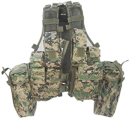 Amazon.com: Chaleco táctico deportivo de combate militar ...