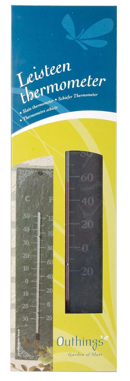 Fallen Fruits Slate Thermometer Classic Esschert LS006