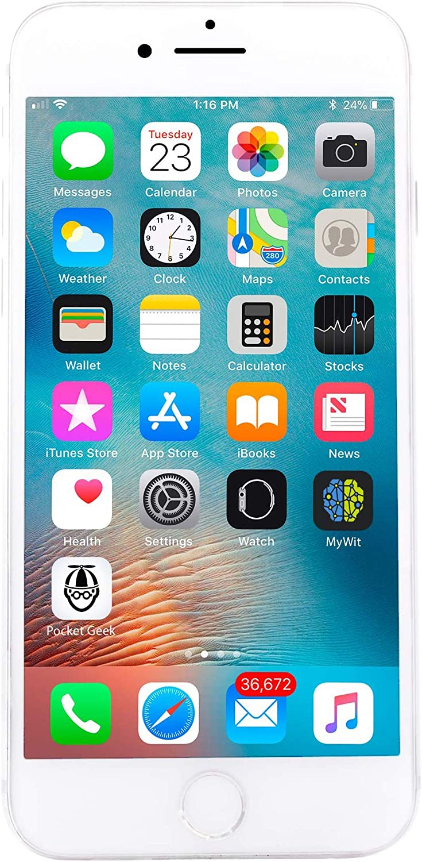 Apple iPhone 8 256GB Unlocked GSM Phone - Silver (Renewed)
