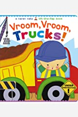 Vroom, Vroom, Trucks! (Karen Katz Lift-the-Flap Book) Board book