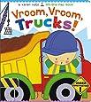 Vroom, Vroom, Trucks! (Karen Katz Lift-the-Flap Books)