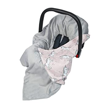 New Cotton Soft Plush Baby Wrap For Car Seat