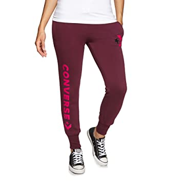 e27a2df7a567 Converse Star Chevron Signature Pant Dk Burgundy - Trousers