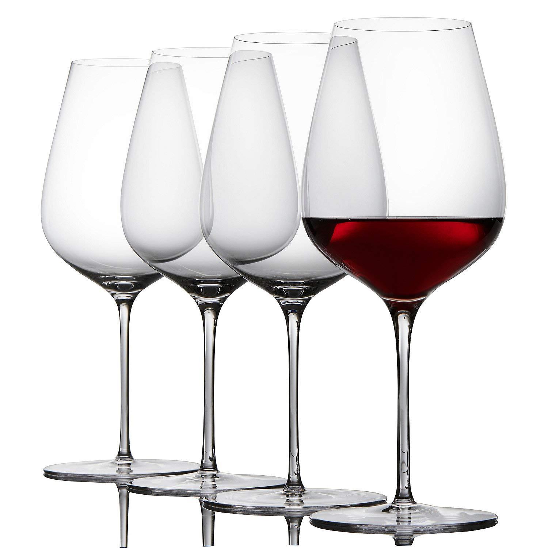 Fusion Air Bordeaux Wine Glasses - Set of 4
