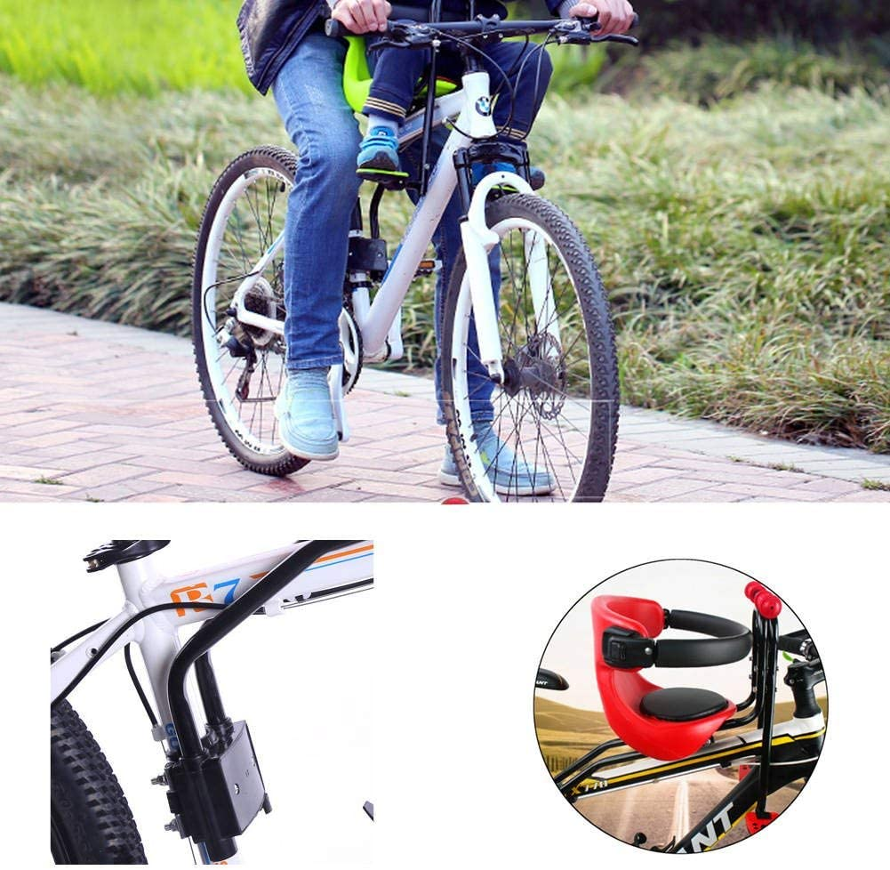 Details about  /Safety Stable Baby Children Kid Bicycle Front Seat Chair Carrier Sport Bike Seat