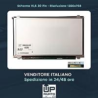 "Upower Schermo 15.6"" LED NT156WHM-N32 B156XTN04.1 30 Pin 1366x768 Slim Glossy per Lenovo B50-30 B50-45 B50-70 B50-80 G50-70 G50-80 G50-45 G50-30 Z50-70 Z50-75 HP 250 G4 Lenovo IDEAPAD 110-15ISK"
