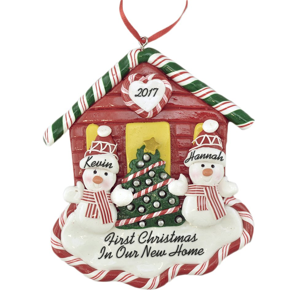 Amazon.com: First Christmas New House for A Couple Personalized ...