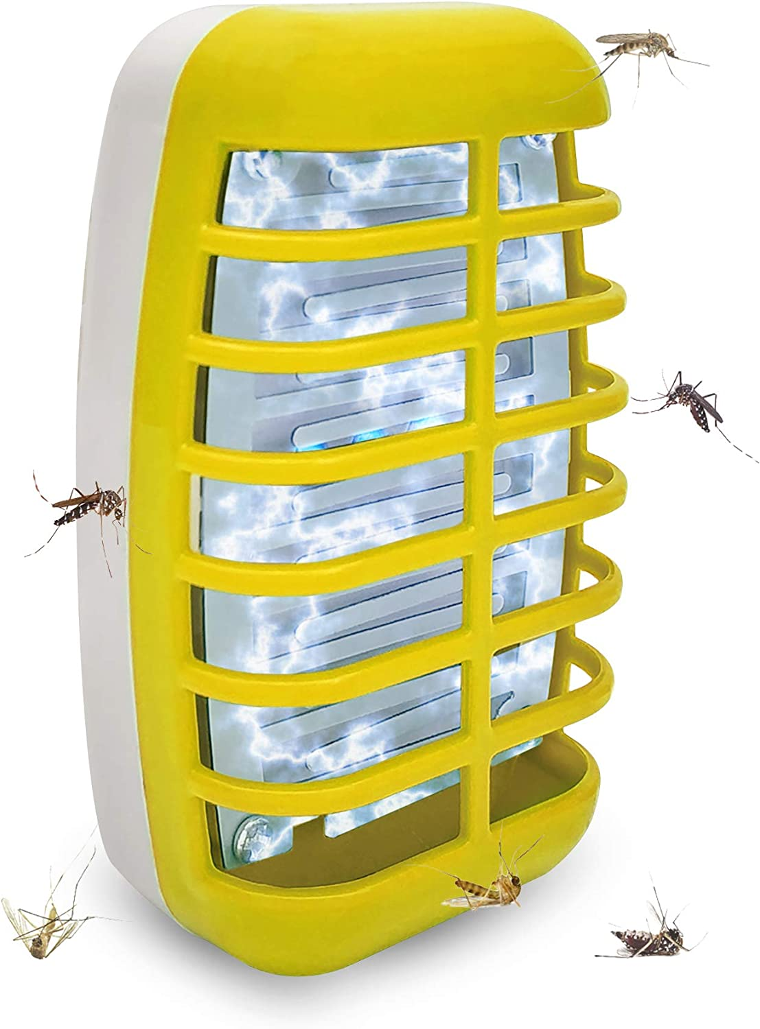Electric Mosquito Killing Trap Lamp Non-Toxic Insect Fly Bug Zapper Catcher