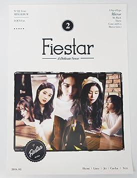 FIESTAR - A Delicate Sense (2nd Mini Album) CD+Photobook CD