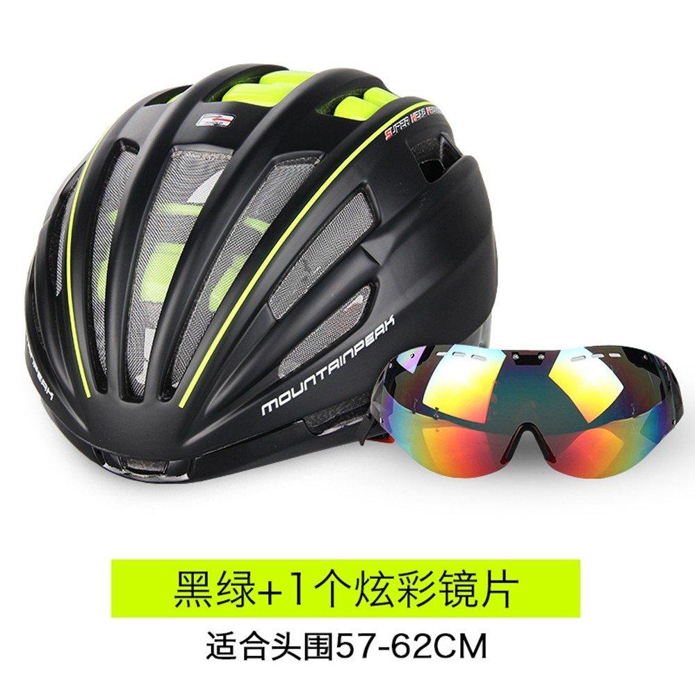 LOLIVEVE Reithelm Integral Geformt Gürtel Montiert Brille Reiten Ausrüstung Mountainbike Helme Männer und Frauen