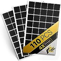 Magnetische vierkanten, 110 zelfklevende magnetische vierkanten, 2 cm x 2 cm, flexibele kleverige magneten - Peel…
