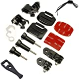 micros2u Gopro 14 Piece Grab Bag Mount Kit For Hero 3 3+ 4 5 6, Session. Go Pro HD Camera Accessories