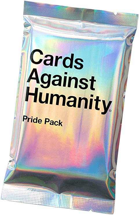 Cards Against Humanity CAH GAY PRIDE WEED PERIOD Packs Part of Profits Donated
