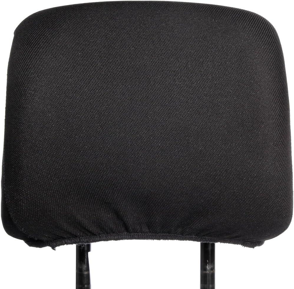 Kopfstützen Bezug Universal Kopfstützenbezug Farbe Schwarz Auto
