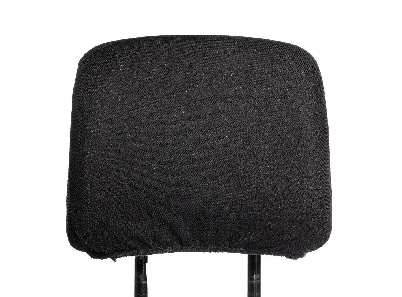 Kopfst/ützen Bezug Universal Kopfst/ützenbezug Farbe schwarz