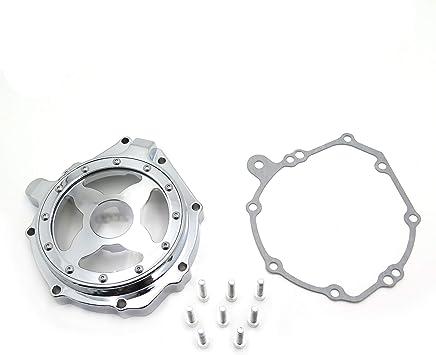 Engine Stator Cover See Through For Honda 04-07 CBR1000RR//04-14 CB 1000RR Chrome