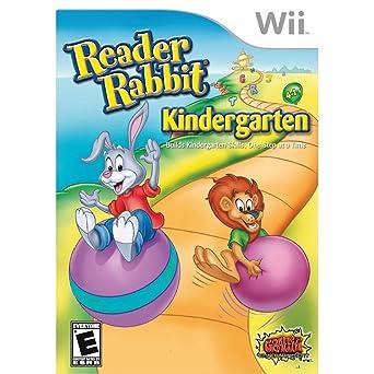 Reader Rabbit Kindergarten: Nintendo Wii: Computer and Video
