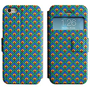 LEOCASE patrón increíble Funda Carcasa Cuero Tapa Case Para Apple iPhone 5 / 5S No.1007442