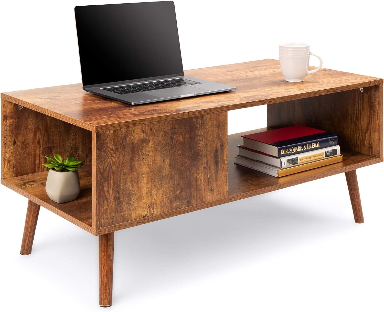 Wooden Mid-Century Modern Coffee Table