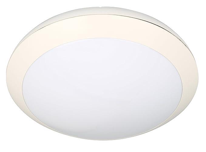 Plafoniere Da Esterno Con Sensore Di Movimento : Ibv plafoniera ip bianco con sensore di movimento luce umido