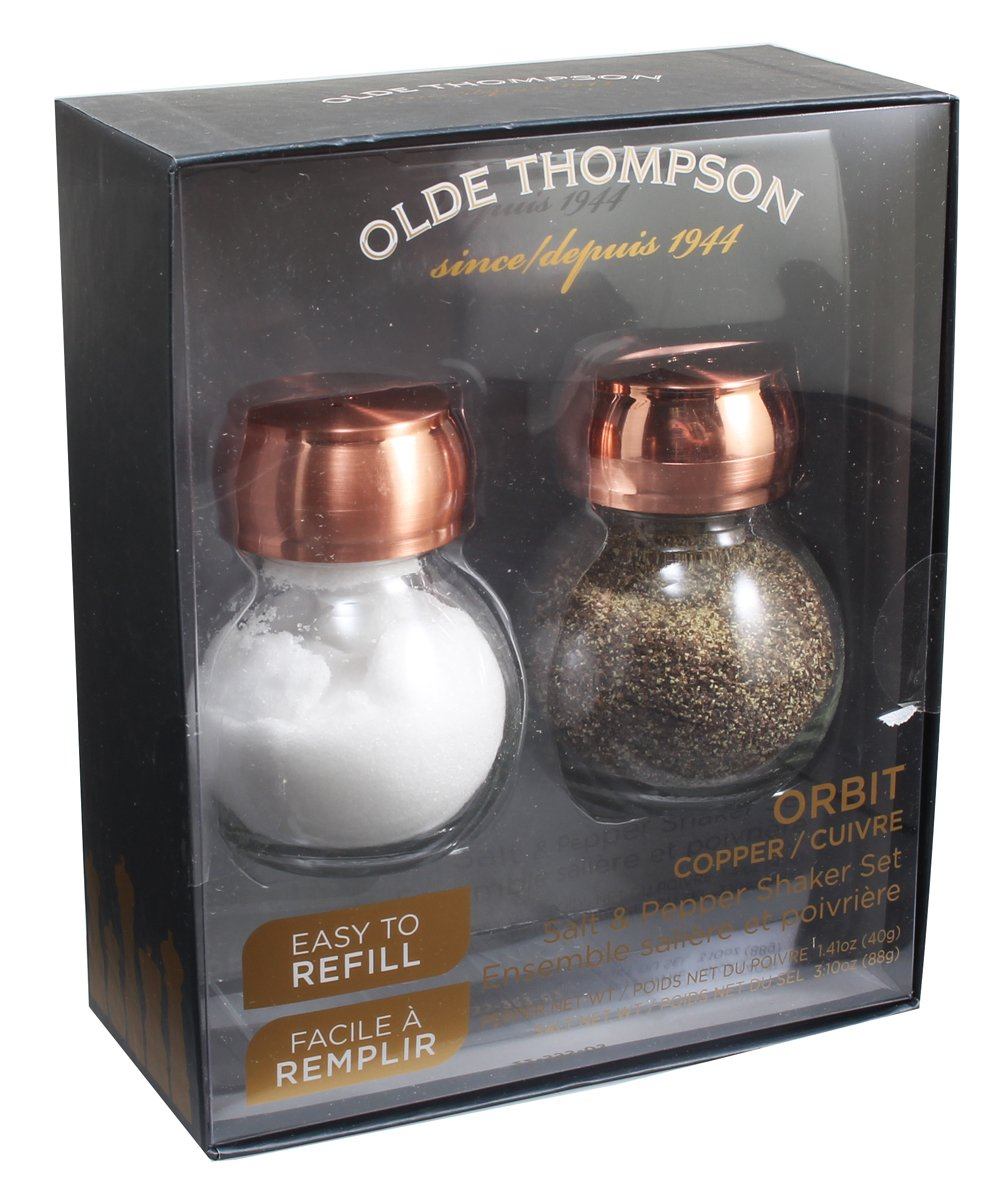 Olde Thompson 22-353-03 Orbit Salt & Pepper Shaker, 3