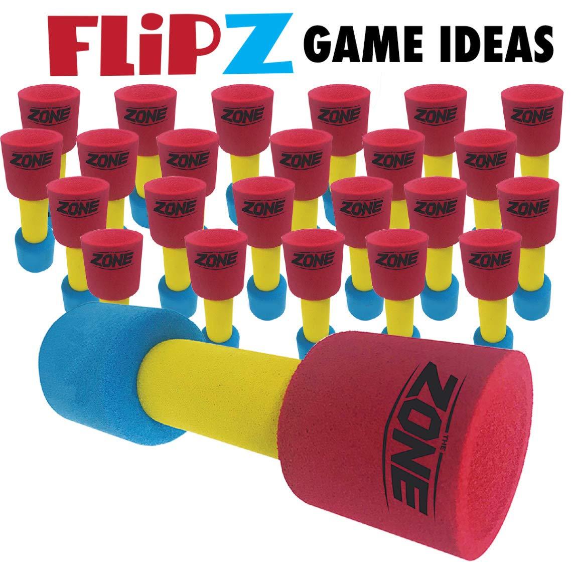 The Zone FlipZ Set of 24 - Stacking & Catching Batons