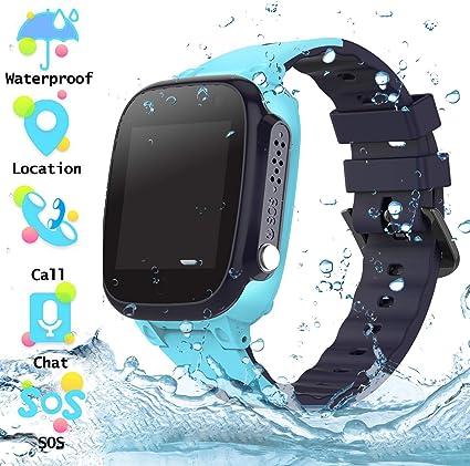 Reloj Inteligente para Niños a Prueba de Agua IP67, Teléfono ...