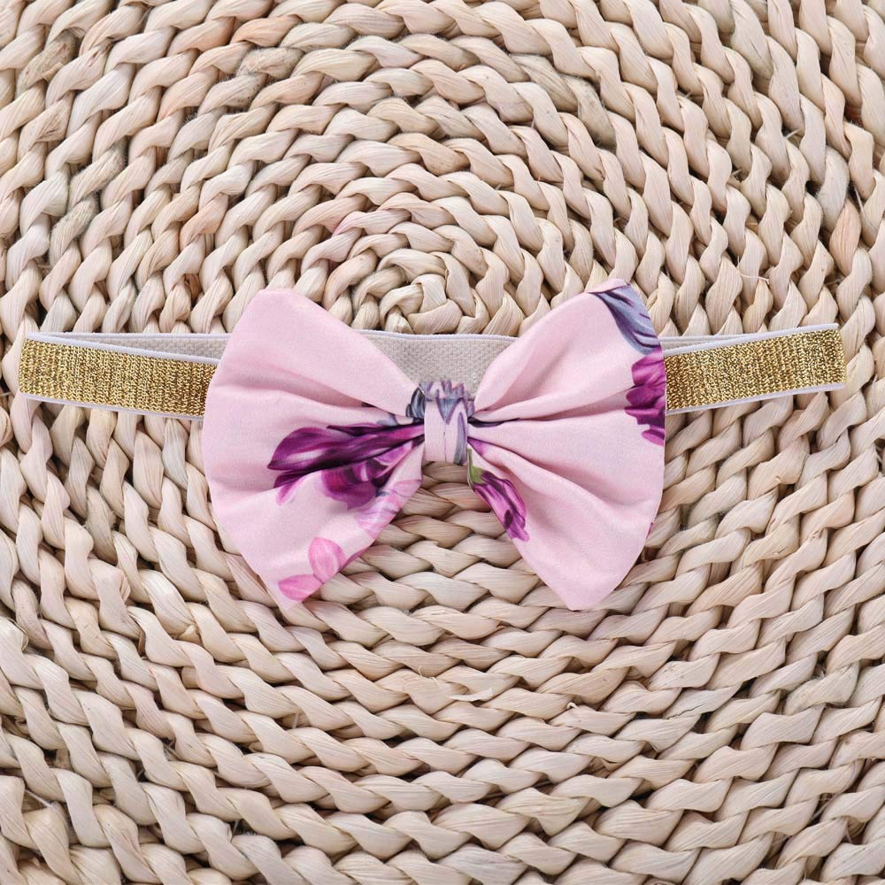 erthome Baby M/ädchen Kleider Spitze Geraffte Kleid+Stirnband Floral Sommerkleid