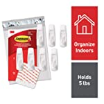 Command Large Utility Hooks, 7-Hooks, 12-Strips (GP003-7NA) - Easy to Open Packaging