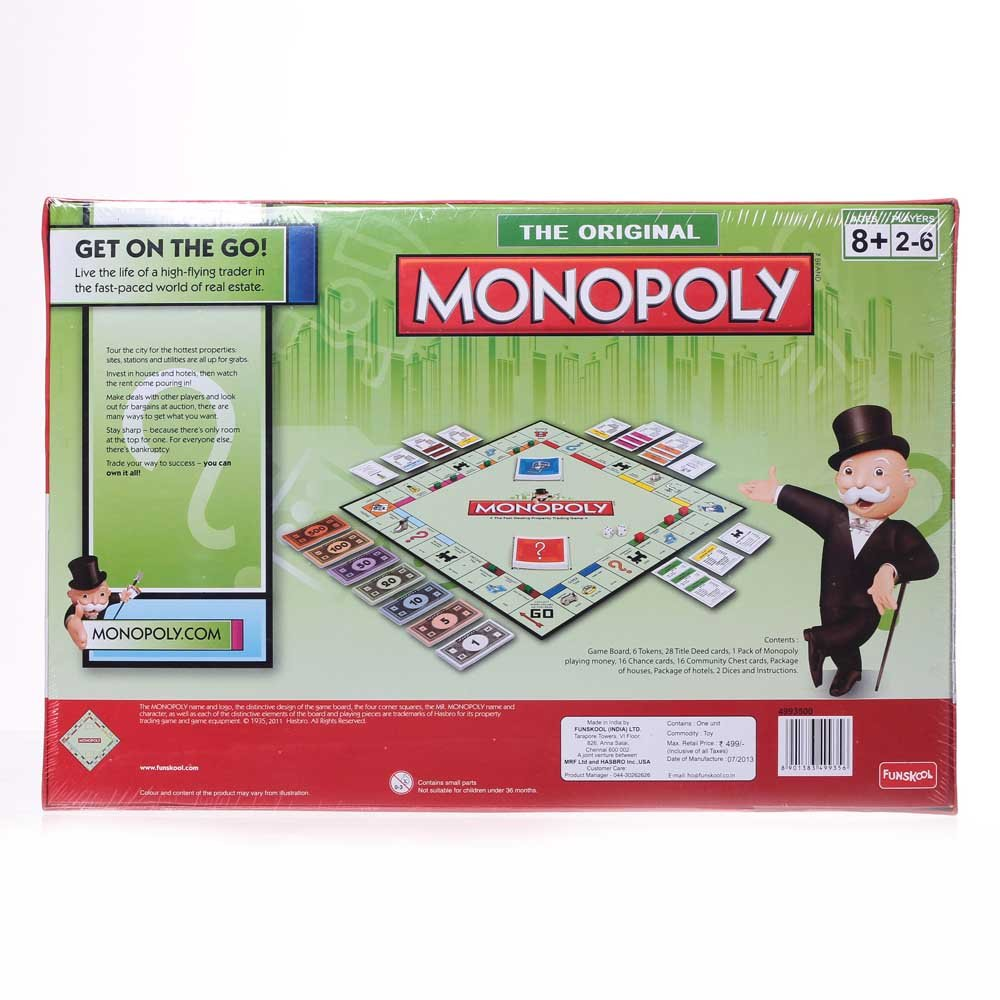 Amazon Funskool Monopoly Toys Games