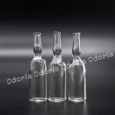 Odoria 1:12 Miniature 3PCS Vase, Bouteille de Vin en Verre Cuisine de Maison de Poupées