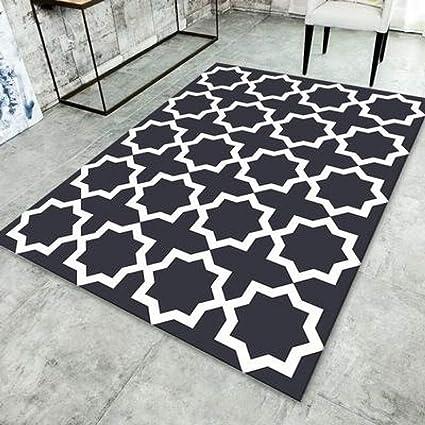 Amazon.com: YUGUO Carpet Printed Geometric Lattice Carpets ...
