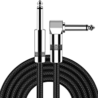 Guitar Cable 10ft New bee Electric Instrument Cable Bass AMP Cord for Electric Guitar, Bass Guitar, Electric Mandolin…