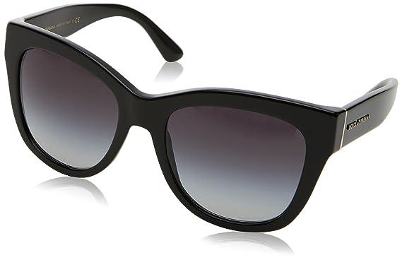 fef428fb8cd Amazon.com  Dolce   Gabbana Women s 0DG4270 Black Grey Gradient One ...