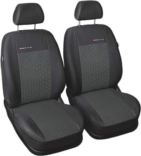 Sitzbezüge grau vorne ELE BMW 3ER E46