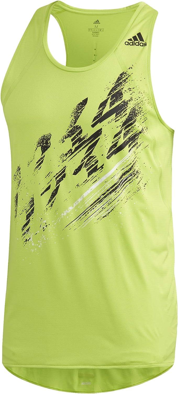 Hombre adidas Speed Singlet M Camiseta sin Mangas