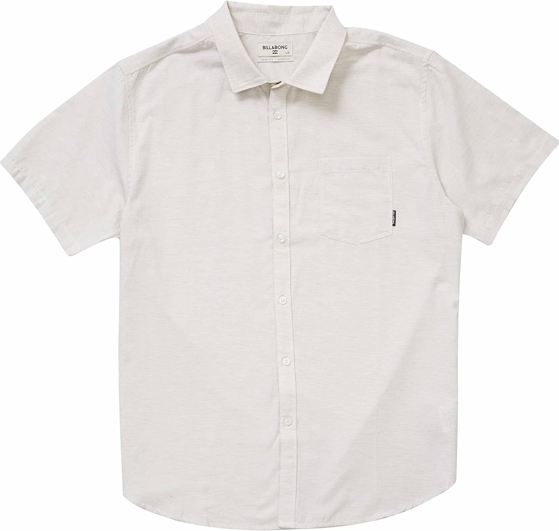 BILLABONG Hombre - Manga Corta Camisa de Botones: Amazon.es: Ropa ...