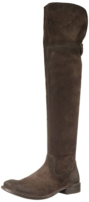 FRYE Women's Shirley Over The Knee Engineer Boot,  Fatigue, 9 M US