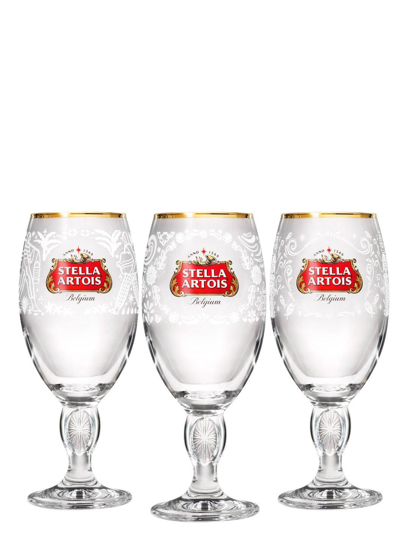 Stella Artois 2018 Limited-Edition Mexico, Philippines & India Chalice (3 Pc)