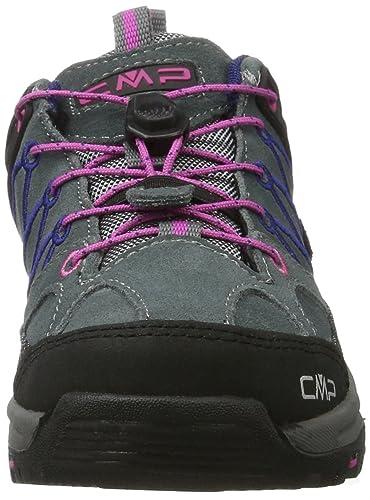 CMP Rigel Low WP, Chaussures de Randonnée Basses Mixte Enfant, Turquoise (Artico-Chili), 33 EU