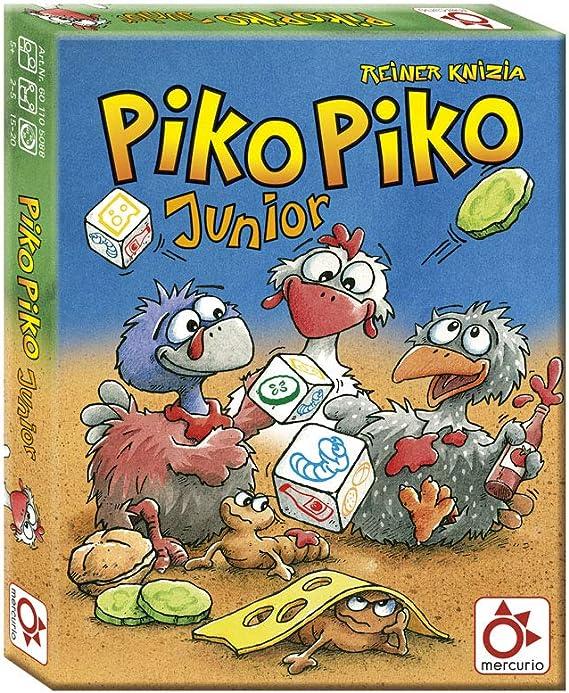 Mercurio- Juego Infantil PIKO Junior Lanza EL Dado Y Haz TU AMBURGUESA DE Gusanos, Multicolor (Z0013): Amazon.es: Juguetes y juegos