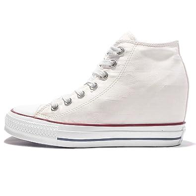 Converse Sneaker CHUCK TAYLOR ALL STAR Lux Hi Schuhe Damen weiß ...
