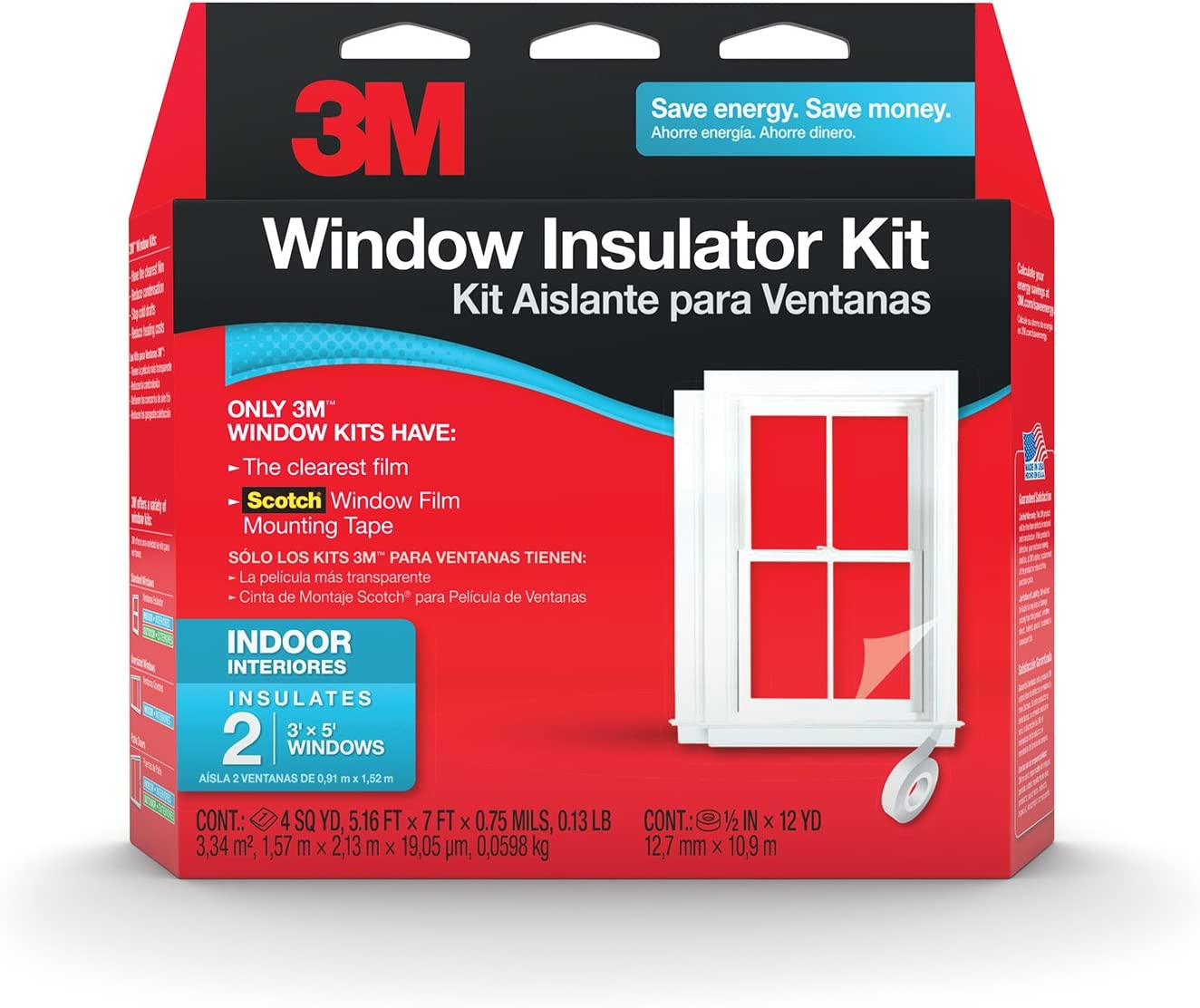"3m Window Kit 62"" X 84""Film"