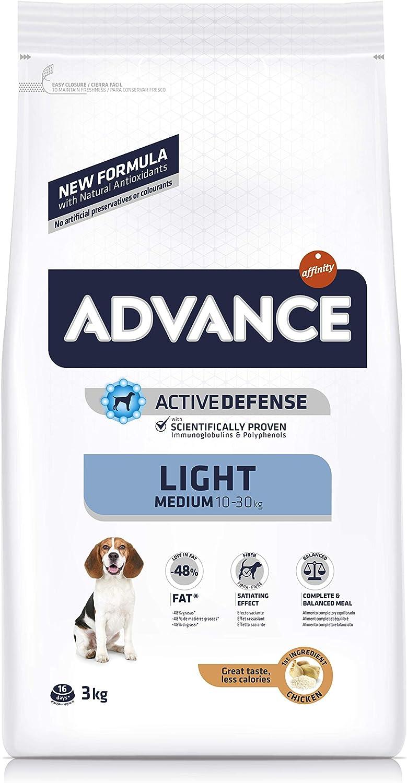 ADVANCE Light Pienso para Perros Medium Adult - 3kg