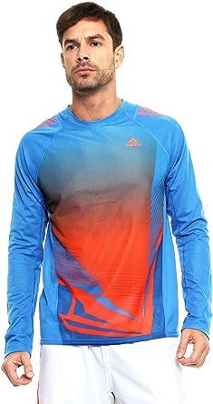 Hacia arriba Rusia Formación  adidas - Camiseta de Running para Hombre: Amazon.es: Ropa y accesorios